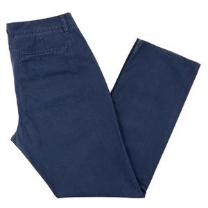 Bonobos Straight Washed Navy Blue Pants Mens 33x32